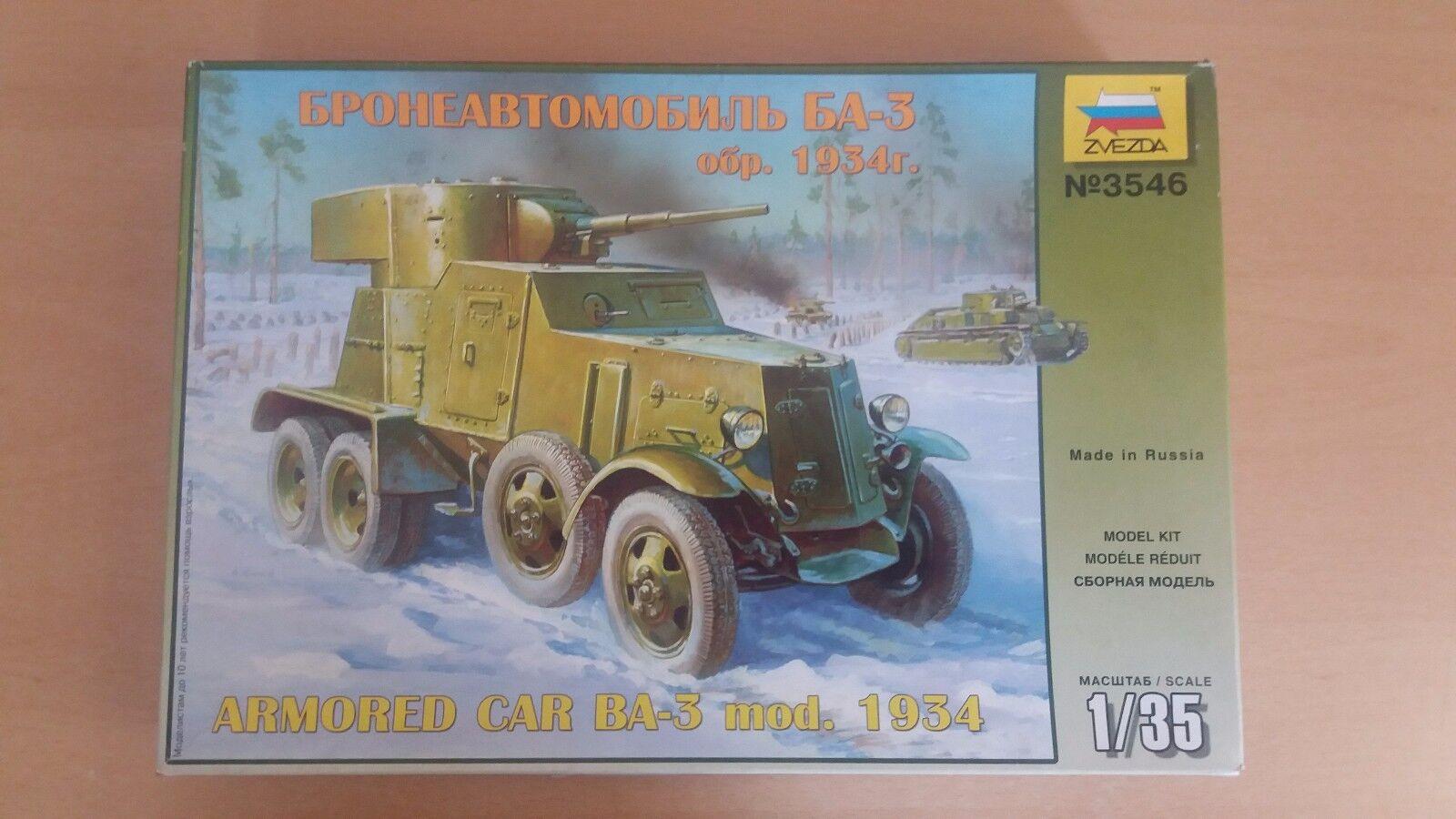 ARMORED CAR BA-3 mod. 1934