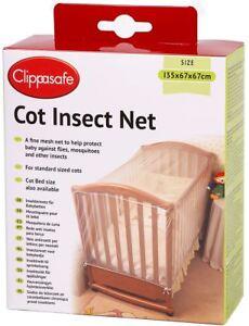 Clippasafe Filet Anti-insectes Lit Protection Moustiquaire Confort Nuit Neuf Volume Large