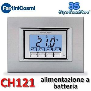 3s termostato ambiente da incasso ch121 fantini cosmi for Fantini cosmi ch110