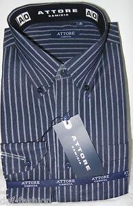 Camicia-classica-uomo-Attore-manica-lunga-collo-Button-down-art-089