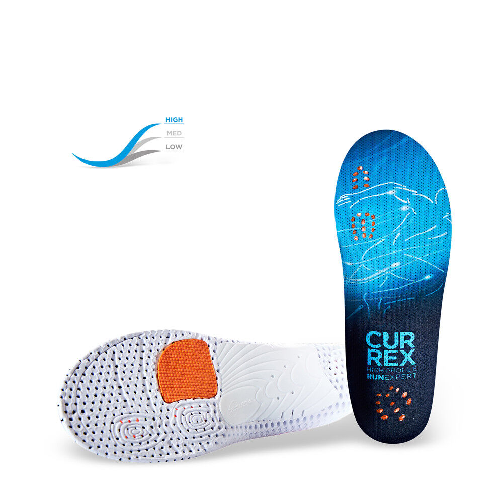 CurrexSole RunExpert High 2018 Sport Einlegesohle Currex Running Sporteinlage