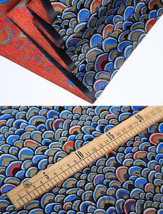1-2-YD-28-034-RETRO-CHINA-ROYAL-SILK-DAMASK-BROCADE-FABRIC-DRAGON-SCALE-DESIGN