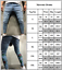 Men-039-s-Skinny-Jeans-Trousers-Biker-Destroyed-Frayed-Slim-Fit-Denim-Ripped-Pants thumbnail 8