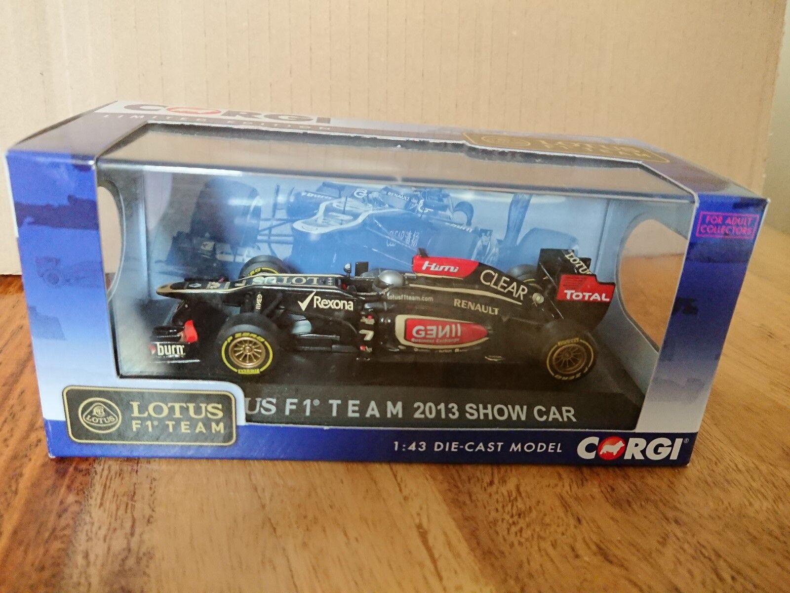 Corgi CC56404 Lotus F1 Team E20 2013 Show Car Ltd Edition No. 0001 of ONLY 1000
