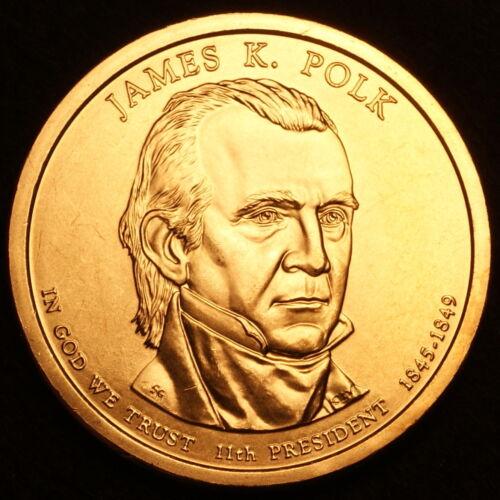 Polk ~ Satin Mint Coin ~ Pos B ~ In 2x2 Coin Flip 2009 P James K