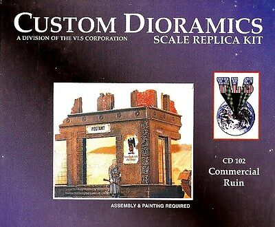 Commercial Ruin By Custom Dioramics 1/35 CD102