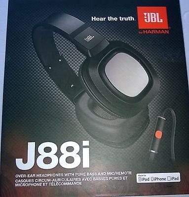 jbl j88i over ear dj kopfh rer mit iphone steuerung. Black Bedroom Furniture Sets. Home Design Ideas