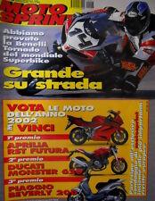 Motosprint 46 2001 Prova Benelli Tornado del mondiale Superbike. Honda Hornet
