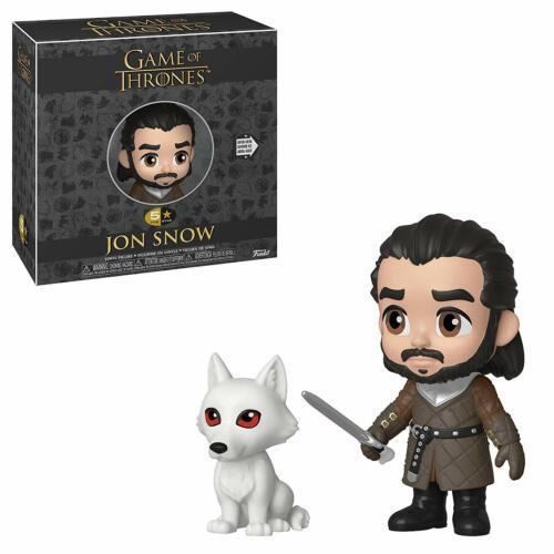 Funko 37773 5 Star Game of Thrones Jon Snow avec Wolf Collectible Figure
