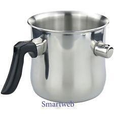 Milchtopf Simmertopf 1,2 Liter Wasserbadtopf Milchkochtopf Wasserbadkocher Topf