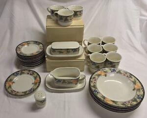 Mikasa Intaglio Garden Harvest Ceramic Dishes Various Stock Available Ebay