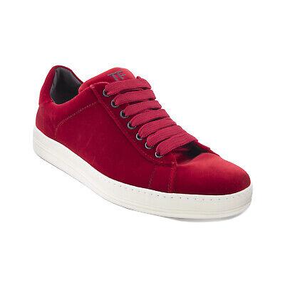 J-3741158 New Tom Ford Red Velvet Lace
