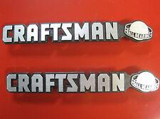 "2 Craftsman ""Ball Bearing""Tool Box Badge Chest/Cabinet,Emblem,Decal,Sticker,Logo"