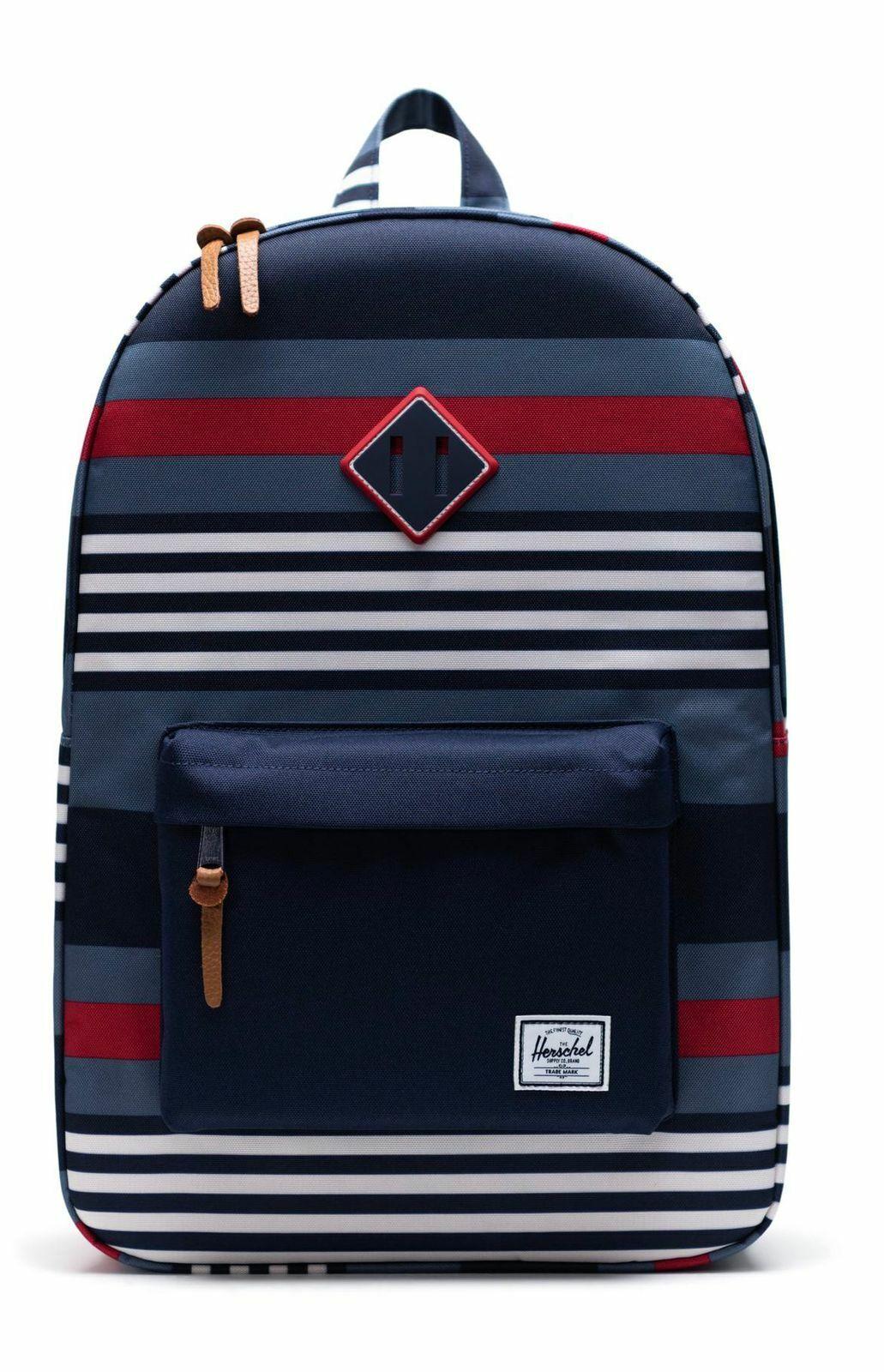 Herschel Backpack Malibu Stripe Peacoat