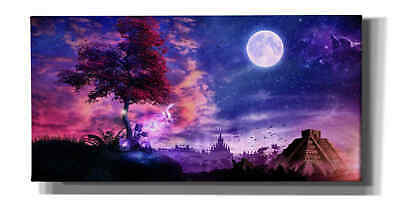 Epic Graffiti Transcension by Cameron Gray Giclee Canvas Wall Art 12 x 24