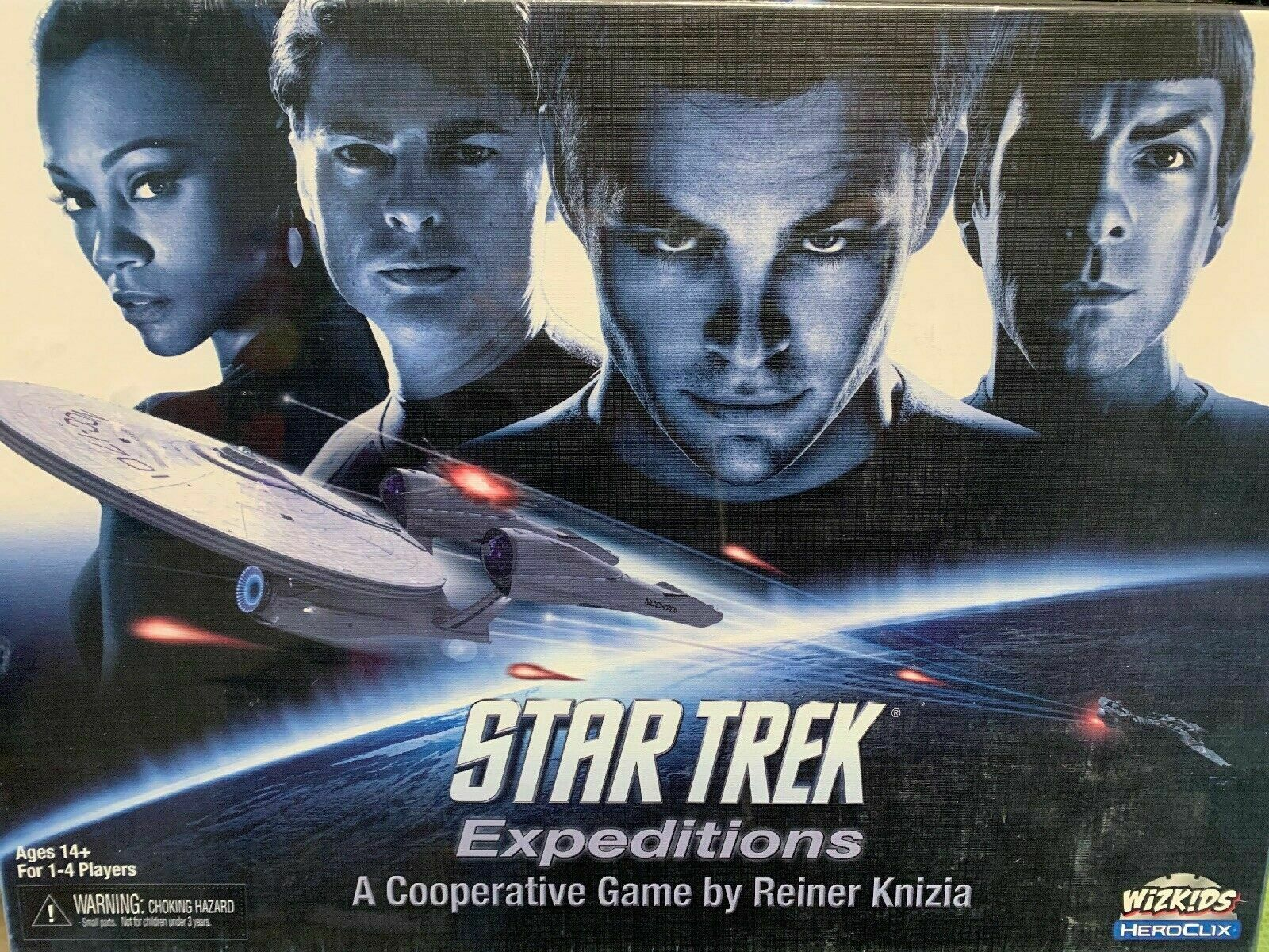 Star Trek Expeditions Board Game - NEW SEALED