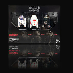 Star-Wars-Hasbro-Black-Series-6-034-Red-Squadron-R2-D2-Astromech-3-Pack-Exclusive