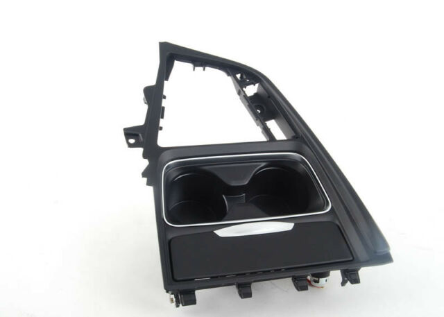 Original BMW F30-33 F34GT F36 Consola Central Copa Soporte Funda 9218925 OEM