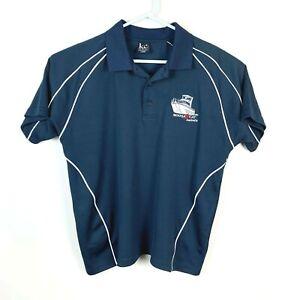 Noosa-Cat-Super-Rare-NFS-Polo-Shirt-Size-Men-039-s-Large