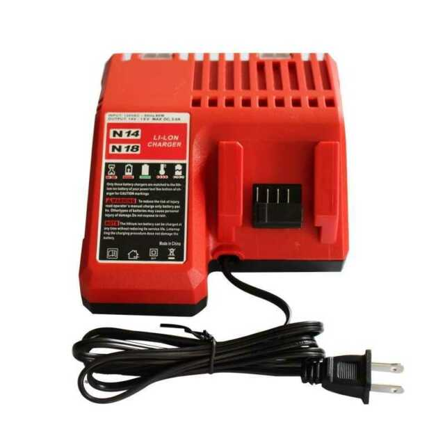 Rapid Battery Charger for Milwaukee  M18 Multi-voltage 110V  220V