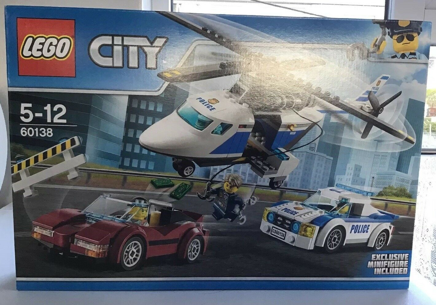 Lego City Police High-speed Chase Set 60138 From 2017  Brand New