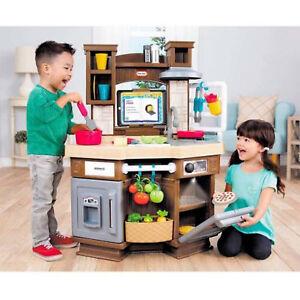 Kids Kitchen Playset Pretend Play Set Cooking Toys Children 40 Pcs Accessories 754185416469 Ebay