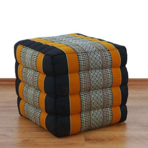 Sitzwürfel Blockkissen Kapok Kissen für Yoga/Pilates Würfelkissen Yogakissen