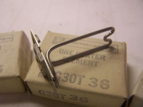 NEW TELEMACANIQUE G30T36 OVERLOAD HEATER ELEMENT LOT OF 3 3