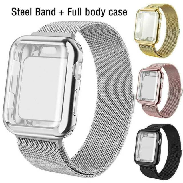 For Luxury Apple Watch Band 38mm Replacement Rose Gold Jewelry Swarovski Crystal For Sale Online Ebay