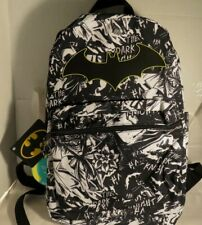 Dark Knight marvel bookbag DC Comics Batman superhero Logo Slouch Backpack