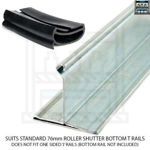 Roller Shutter Door Bottom Rail Rubber Seal Anti Rodent Pest Threshold Cheapest