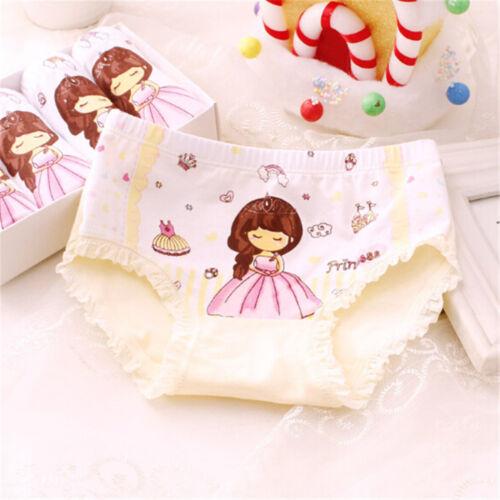 Baby Kids Girls Underpants Cotton Panties Child Underwear Short Briefs UK