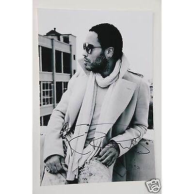 Lenny Kravitz signed 20x30cm Foto Autogramm / Autograph In Person