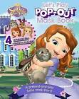 Disney Junior Sofia the First Let's Play Pop-Out Mask Book by Parragon (Paperback / softback, 2014)