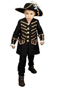Coole Pirat Jacke Kostum Kinder Jungen Piratenkostum Karneval