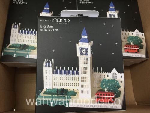 KAWADA Paper nano Puzzle big ben PN-116