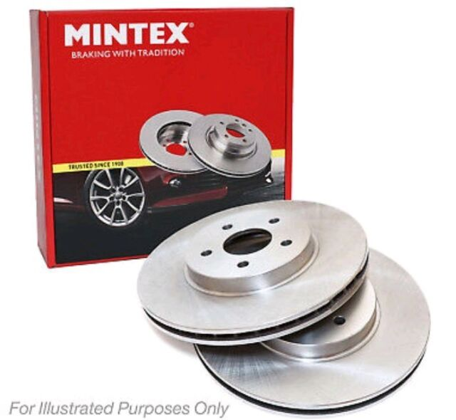 OEM SPEC FRONT REAR DISCS AND PADS FOR VAUXHALL ZAFIRA 1.8 2001-04