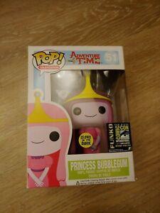 Sdcc 14 Funko Pop Princesse Bubblegum Glow In The Dark Ltd. Édition 2500