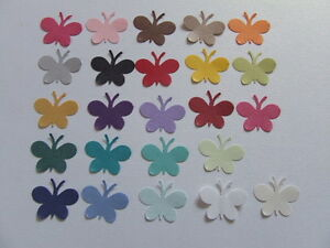 100-PEARLESCENT-SHIMMER-BUTTERFLY-CONFETTI-Wedding-PARTY-Table-Confetti-Topper