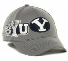 BRIGHAM YOUNG COUGARS new SKETCHED FLEX FIT HAT CAP- Medium/Large M/L $28