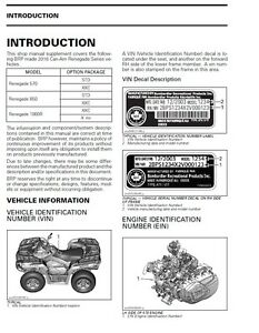 2016 can am atv renegade 570 850 1000r x mr service manual 3 ring rh ebay com can am outlander 1000 service manual free download can am outlander 1000 service manual pdf