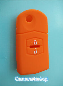 MAZDA-3-2-6-2-Button-Remote-CAR-KEY-COVER-CASE-HOLDER-MPS-SP23-CX7-CX9-orange