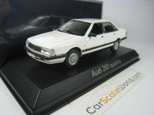 AUDI 200 QUATTRO 1989 1/43 NOREV (WHITE)