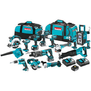Makita-XT1501-18-Volt-3-0Ah-15-Piece-Lithium-Ion-Power-Tool-Cordless-Combo-Kit