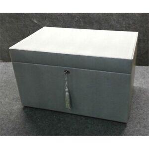 Wolf Pottery Barn Mckenna Jewelry Armoire Box 16 5 Quot X 10