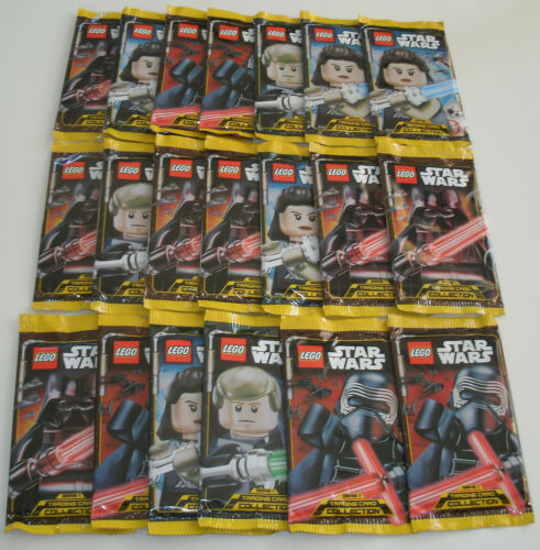 LEGO Star Wars Serie 1 Trading Card Game - 20 Booster Neu & OVP