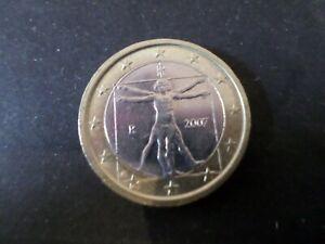 ITALIE-PIECE-de-MONNAIE-de-1-euro-2007-PROPORTIONS-CORP-L-DE-VINCI-VF-COIN