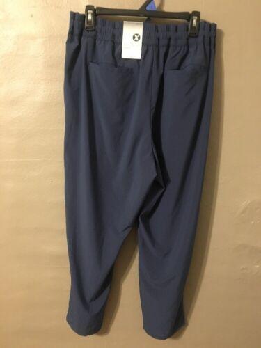 Blue Womens Xxl Athletic Xersion Nuovo Da Pants Semi fit SZ45ZxqHw