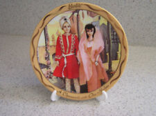 VTG 1994 Enesco Mini Plate-From Barbie With Love 'A Thousand And One Nights'