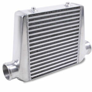 "3"" 76mm UNIVERSAL RACE SPORT ALLOY DIY BOOST FRONT MOUNT INTERCOOLER KIT FMIC"